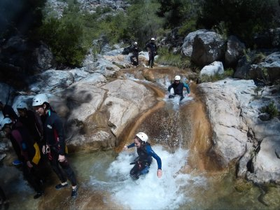 Canyoning in Río Verde 8h