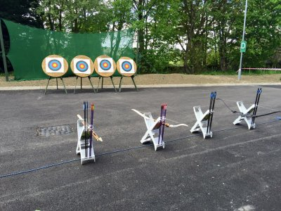 Half Day Archery Taster Session group in Yorkshire