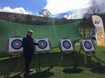 Fullday Archery Taster Session group in Yorkshire
