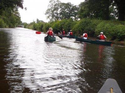 Full day Canoe taster in Yorkshire