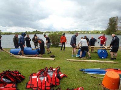 Rafting team building in Yorkshire