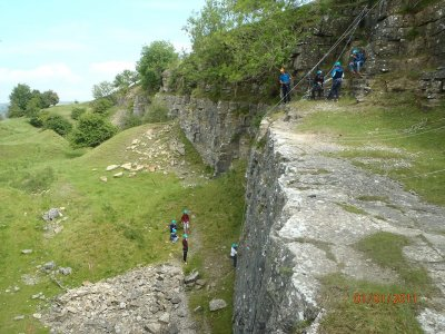 One and a half hour Abseiling in Yorkshire