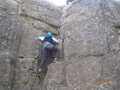 One day Climbing experience in Yorkshire