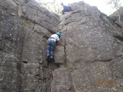 Two days climbing experience in Yorkshire