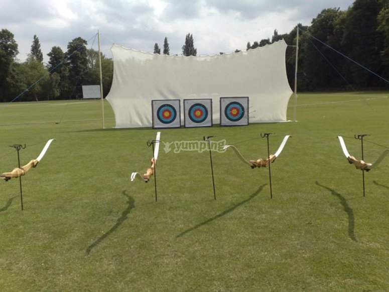Archery at our field