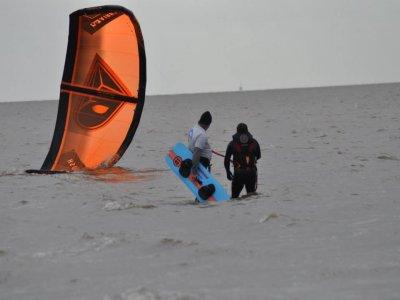Kitesurfing advanced lesson for 2 in Norfolk