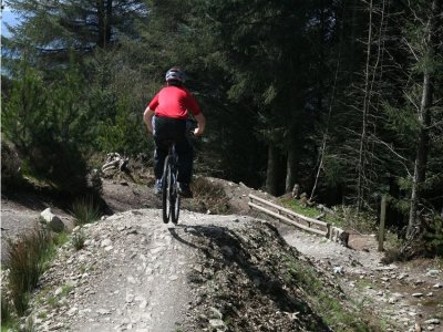 Guide Mountain Biking Ride Full Day in Llangollen