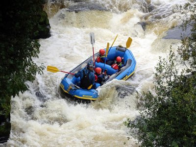 Whitewater rafting in The River Dee for 2 Hours