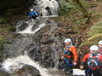 Canyoning in Llangollen