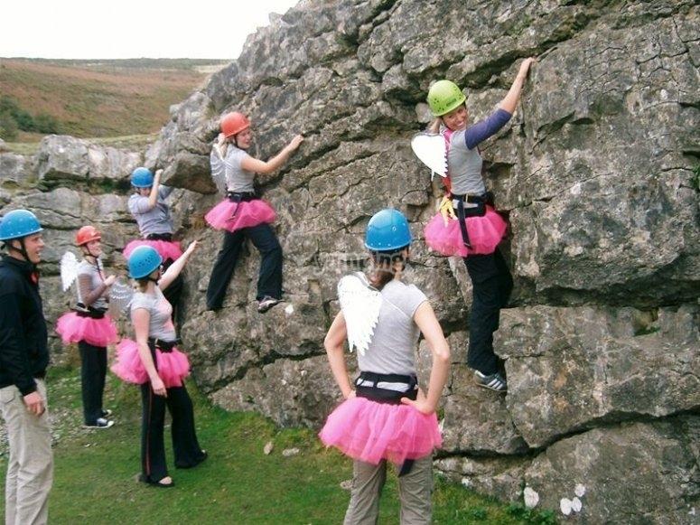 Girls full climbing package
