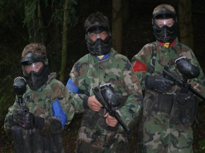 Paintball in Llangollen 600 pellets and 2 grenades