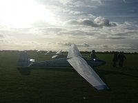 Nice day at Bicester Gliding