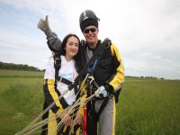 Safe landing with Skydive Buzz Ltd!