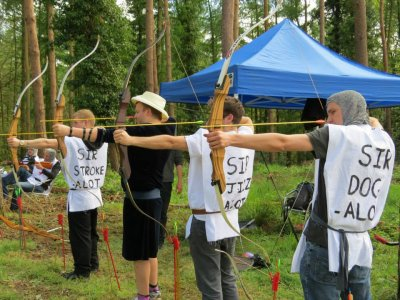 Archery in New Forest Water Park