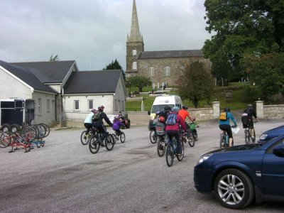 Mountain biking at Fermanagh
