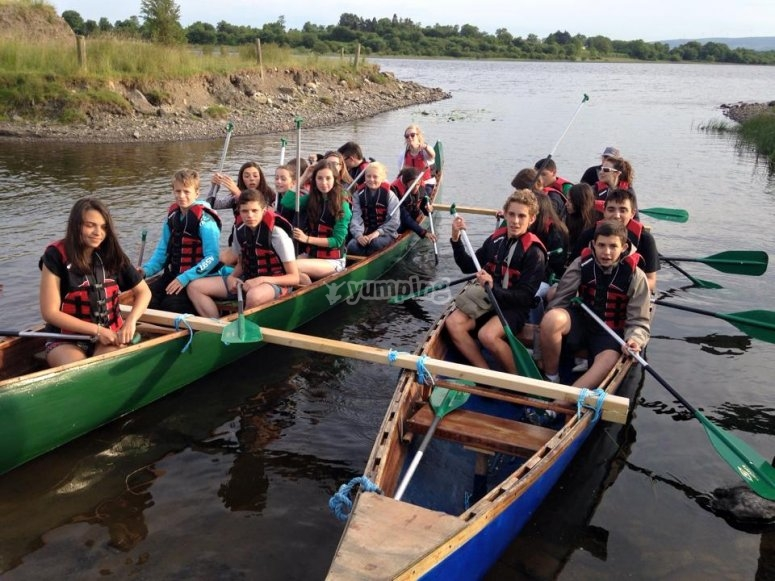 Canoeing Experience at the summer