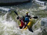 Canoeing at Pinkston Watersports