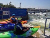 Kayaking at Pinkston Watersports