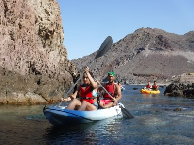 Cabo de Gata in kayak