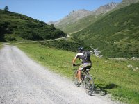 Mountain biking routes