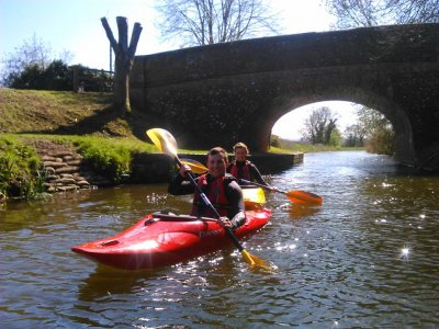 Kayak and Canoeing Trips at Devon half day