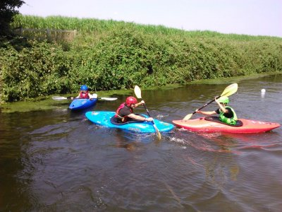 Kayak or Canoeing introductory course at Devon