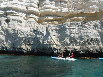 Kayak route from Agua Amarga in Cabo de Gata