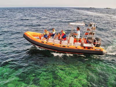 Boat ride in Cala Dorada