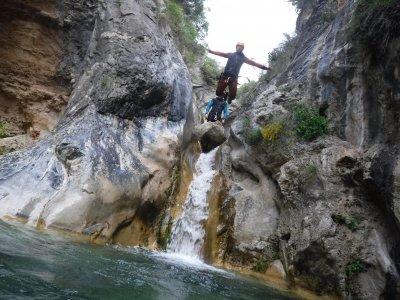 Canyoning in Lentegí, Almeria