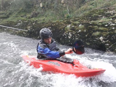White water introductory course at Devon