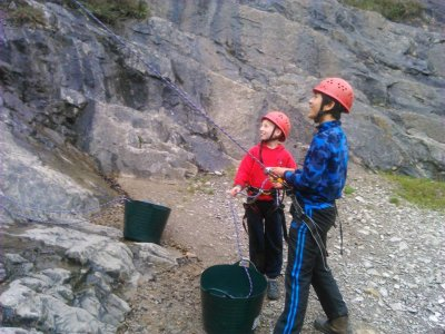Open Climbing or abseiling sessions at Devon
