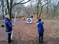 Open Archery and Axe throwing sessions at Devon
