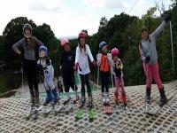Lessons for kids in Brentwood Park Ski & Snowboarding Centre!
