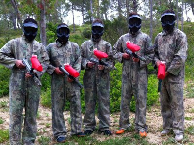 Paintball match in Torrecera with breakfast
