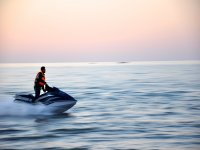 Jet skiing on your own