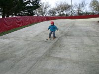 Skiing for the Tiny Tots in Newmilns Snow & Sports Complex