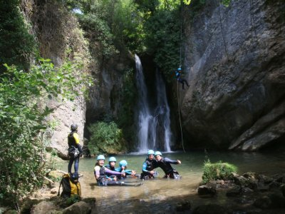 Ascend and Descend Via Ferrata Canyoning