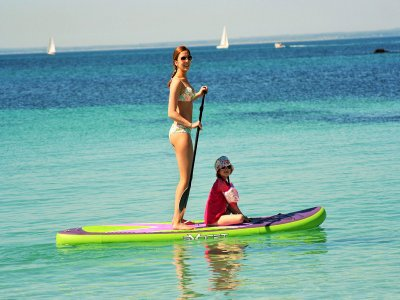 1-hour paddle surf session in the Coast of Murcia