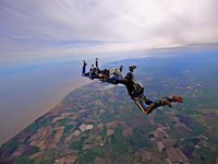 AFF level 1 Skydiving course at Suffolk