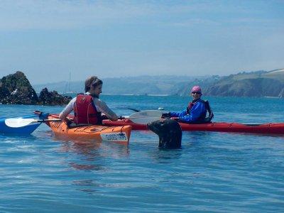Full day Sea Kayak taster session at Devon