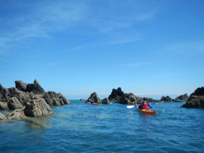 2 days Sea kayaking intermediate course at Devon