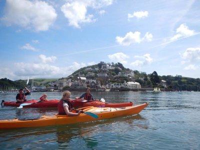 Full day Sea Kayak session for children at Devon