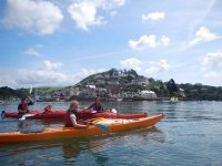 Full day Sea Kayak session for children at Devon