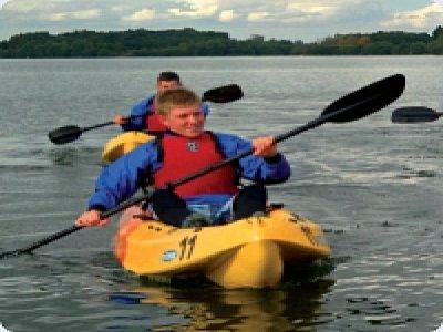 Alton Water Sailing Academy Kayaking