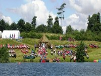 The World Scout Jamboree had over 60 crafts in the water