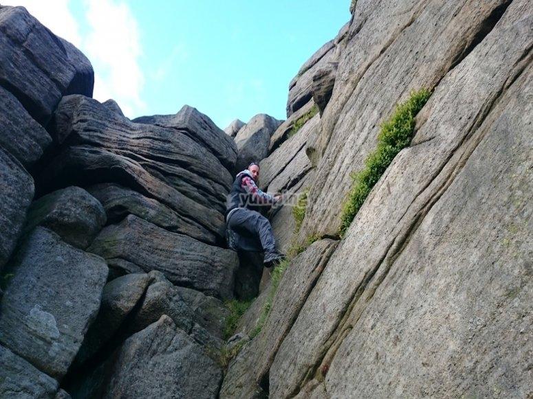 Rock and climbs