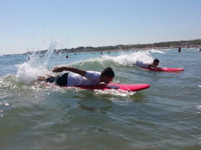 Surf Course in Castelldefels Basic Level 4h