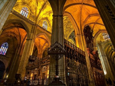 Visit Sevilla's Cathedral, Giralda, Alcázar 2,5 h
