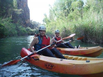 Kayak ride in Fuensanta 2 hours