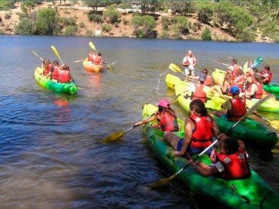 Kayak route in the swamp of San Juan